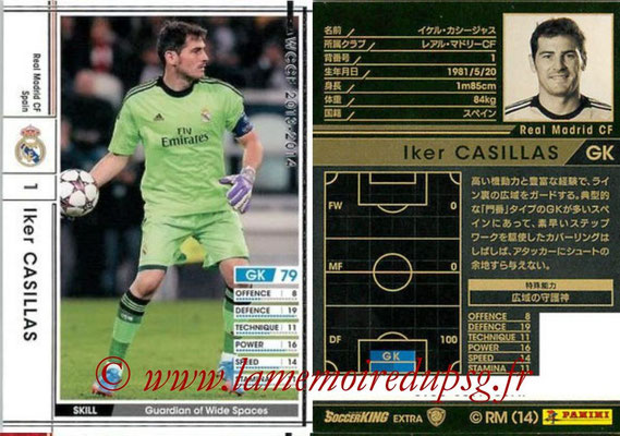 2013-14 - WCCF - N° EXT - Iker CASILLAS (Real Madrid CF) (Extra)