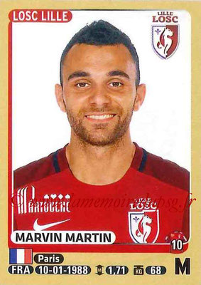 2015-16 - Panini Ligue 1 Stickers - N° 158 - Marvin MARTIN (Lille OSC)