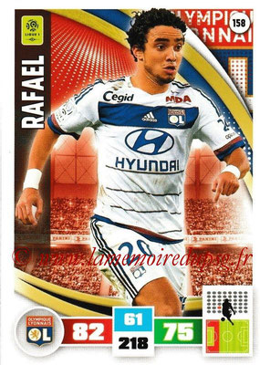 2016-17 - Panini Adrenalyn XL Ligue 1 - N° 158 - RAFAEL (Lyon)