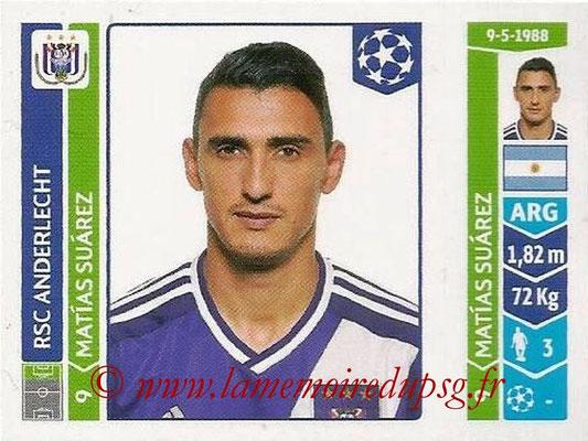 2014-15 - Panini Champions League N° 324 - Matias SUAREZ (RSC Anderlecht)