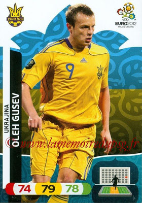 Panini Euro 2012 Cards Adrenalyn XL - N° 219 - Oleh GUSEV (Ukraine)
