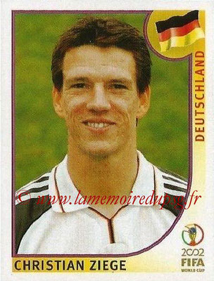 2002 - Panini FIFA World Cup Stickers - N° 320 - Christian ZIEGE (Allemagne)