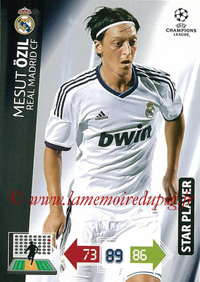 2012-13 - Adrenalyn XL champions League N° 227 - Mesut ÖZIL (Real Madrid CF) (Star Player)