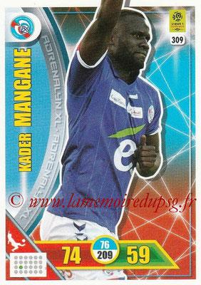 2017-18 - Panini Adrenalyn XL Ligue 1 - N° 309 - Kader MANGANE (Strasbourg)