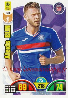 2018-19 - Panini Adrenalyn XL Ligue 1 - N° 349 - Alexis BLIN (Toulouse)