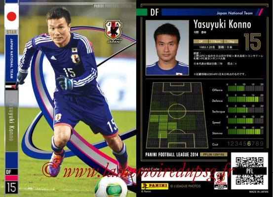 Panini Football League 2014 - PFL06 - N° 129 - Yasuyuki KONNO (Japon) (Star)
