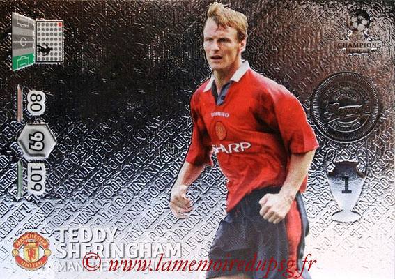 2012-13 - Adrenalyn XL champions League N° 353 - Teddy SHERINGHAM (Manchester United FC) (Legend)