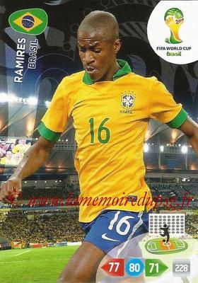 2014 - Panini FIFA World Cup Brazil Adrenalyn XL - N° 056 - RAMIRES (Brésil)