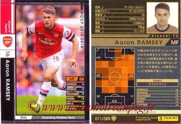 2013-14 - WCCF - N° 011 - Aaron RAMSEY (Arsenal FC)