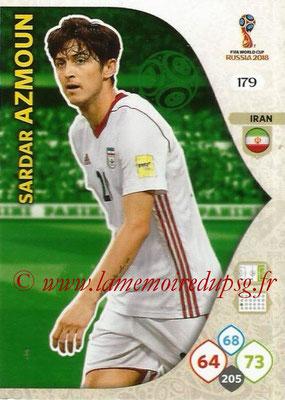 2018 - Panini FIFA World Cup Russia Adrenalyn XL - N° 179 - Sardar AZMOUN (Iran)
