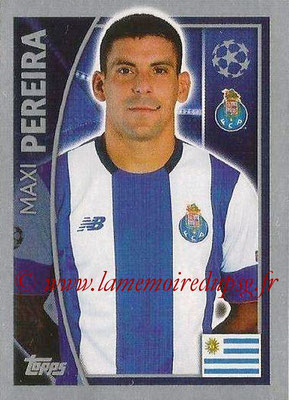 2015-16 - Topps UEFA Champions League Stickers - N° 466 - Maxi PEREIRA (FC Porto)