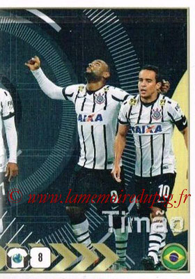 2015-16 - Panini FIFA 365 Stickers - N° 178 - Equipe SC Corinthians 2