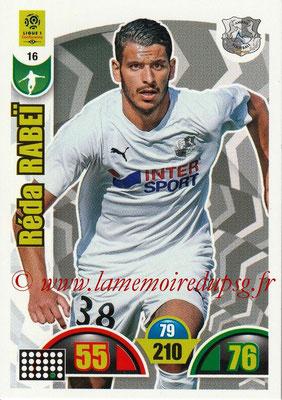 2018-19 - Panini Adrenalyn XL Ligue 1 - N° 016 - Réda RABEI (Amiens)