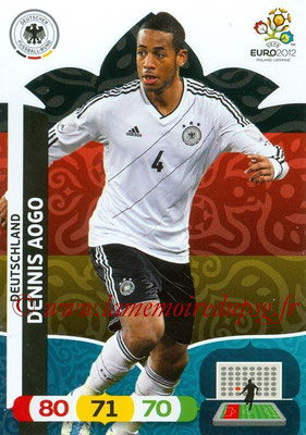 Panini Euro 2012 Cards Adrenalyn XL - N° 031 - Dennis AOGO (Allemagne)