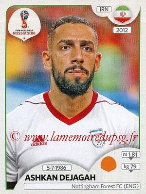 2018 - Panini FIFA World Cup Russia Stickers - N° 186 - Ashkan DEJAGAH (Iran)