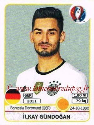Panini Euro 2016 Stickers - N° 251 - Ilkay GUNDOGAN (Allemagne)