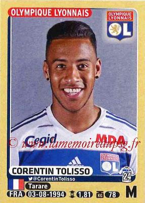 2015-16 - Panini Ligue 1 Stickers - N° 212 - Corentin TOLISSO (Olympique Lyonnais)
