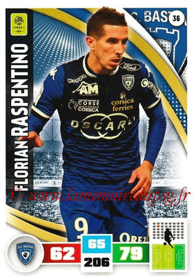 2016-17 - Panini Adrenalyn XL Ligue 1 - N° 036 - Florian RASPENTINO (Bastia)