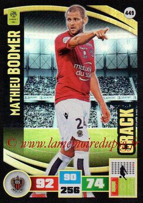 N° 449 - Mathieu BODMER (2010-13, PSG > 2016-17, Nice) (Crack)