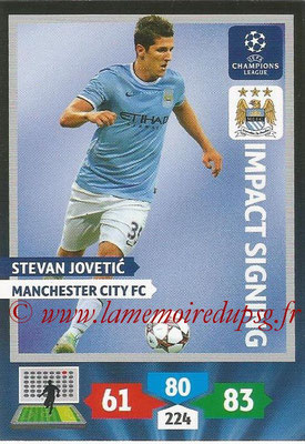 2013-14 - Adrenalyn XL champions League N° 277 - Stevan JOVETIC (Manchester City FC) (Impact Signing)
