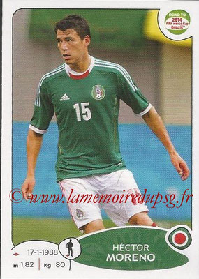 2014 - Panini Road to FIFA World Cup Brazil Stickers - N° 245 - Hector MORENO (Mexique)