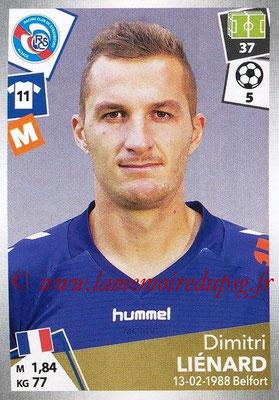 2017-18 - Panini Ligue 1 Stickers - N° 454 - Dimitri LIENARD (Strasbourg)