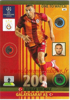 2014-15 - Adrenalyn XL champions League N° 142 - Burak YILMAZ (Galatasaray AS) (One to watch)