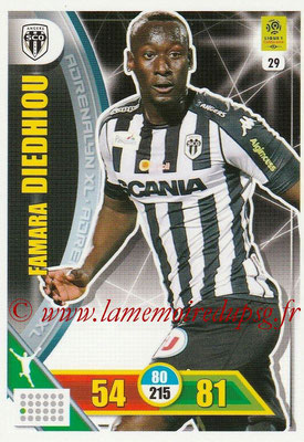 2017-18 - Panini Adrenalyn XL Ligue 1 - N° 029 - Famara DIEDHIOU (Angers)