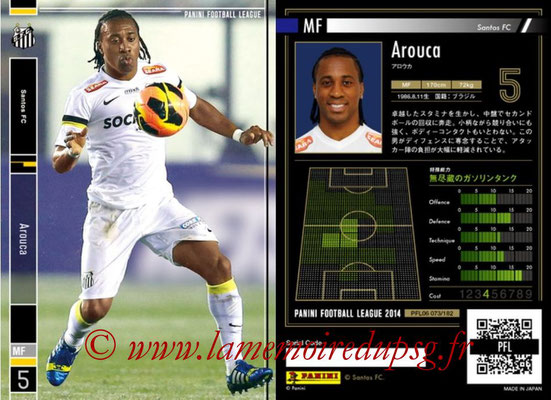 Panini Football League 2014 - PFL06 - N° 073 - AROUCA (Santos FC)