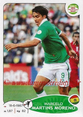 2014 - Panini Road to FIFA World Cup Brazil Stickers - N° 155 - Marcelo MARTINS MORENO (Bolivie)