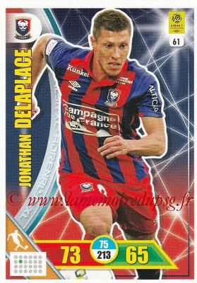 2017-18 - Panini Adrenalyn XL Ligue 1 - N° 061 - Jonathan DELAPLACE (Caen)