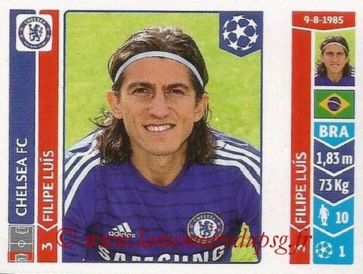 2014-15 - Panini Champions League N° 501 - Filipe LUIS (Chelsea FC)