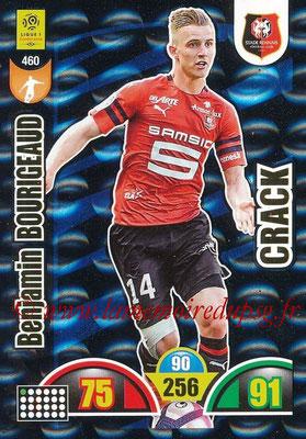 2018-19 - Panini Adrenalyn XL Ligue 1 - N° 460 - Benjamin BOURIGEAUD (Rennes) (Crack)