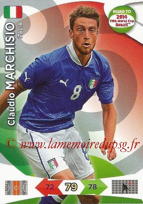 2014 - Panini Road to FIFA World Cup Brazil Adrenalyn XL - N° 123 - Claudio MARCHISIO (Italie)