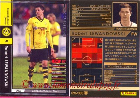 2013-14 - WCCF - N° 096 - Robert LEWANDOWSKI (Borussia Dortmund)