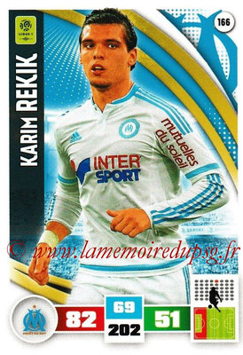 2016-17 - Panini Adrenalyn XL Ligue 1 - N° 166 - Karim REKIK (Marseille)