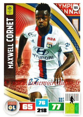 2016-17 - Panini Adrenalyn XL Ligue 1 - N° 155 - Maxwell CORNET (Lyon)