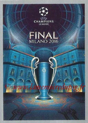 2015-16 - Topps UEFA Champions League Stickers - N° 608 - UEFA Champions League Final 2015-16