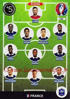 Panini Euro 2016 Cards - N° 135 - Équipe Type de France
