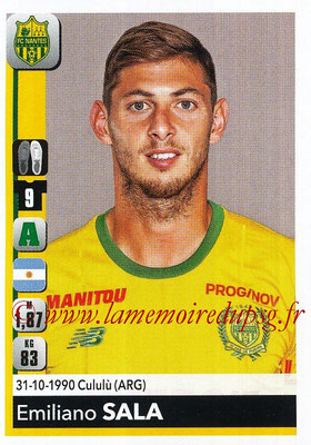 2018-19 - Panini Ligue 1 Stickers - N° 295 - Emiliano SALA (Nantes)