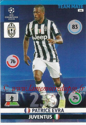 2014-15 - Adrenalyn XL champions League N° 146 - Patrice EVRA (Juventus FC)