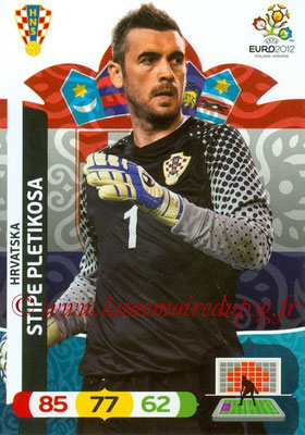 Panini Euro 2012 Cards Adrenalyn XL - N° 103 - Stipe PLETIKOSA (Croatie)