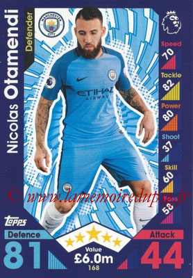 2016-17 - Topps Match Attax Premier League - N° 168