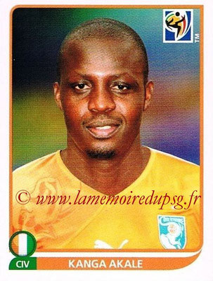 2010 - Panini FIFA World Cup South Africa Stickers - N° 533 - Kanga AKALE (Côte d'Ivoire)