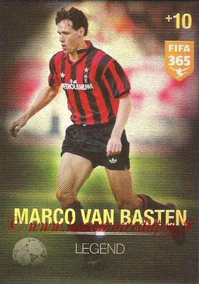 2015-16 - Panini Adrenalyn XL FIFA 365 - N° 373 - Marco VAN BASTEN (Pays-Bas) (Legend)