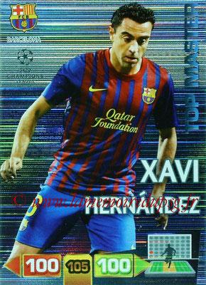 2011-12 - Panini Champions League Cards - N° 352 - Xavi HERNANDEZ (FC Barcelone) (Top Master)