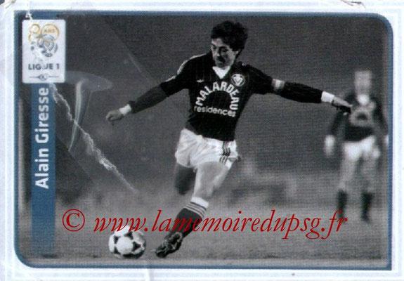 N° X02 - Alain GIRESSE (Juin à oct 1998, Entraîneur PSG, 2012-13, Rétro)