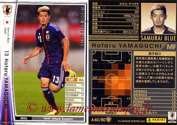 2012-13 - WCCF - N° A60 - Hotaru YAMAGUCHI (Japon)