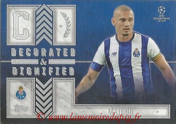 2015-16 - Topps UEFA Champions League Showcase Soccer - N° DD-M - MAICON (FC Porto) (Decorated and Dignified)