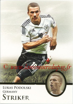 2013 - Futera World Football Unique - N° 087 - Lukas PODOLSKI (Allemagne) (Striker)